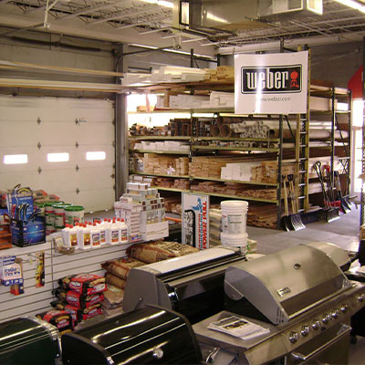 Hardware Supplies available at DMI Home Supply in Ardmore, PA including BBQ Grills, Lumber, Coal, and more